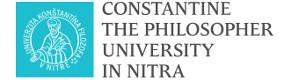 UKF, l'Université du Philosophe Constantin de Nitra, Faculté des Sciences Sociales et de la Santé, Slovaquie